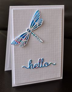 A Little Space of My Own: CBS Dragonfly, Hello Word Die