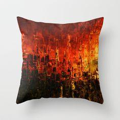 Zenithland Throw Pillow by Jean-François Dupuis - $20.00