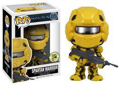 Spartan Warrior (Yellow Version) 05 Pop! Halo Vinyl Figure