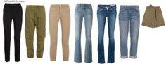 How to dress like Jennifer Aniston: Stylish khakis, pants, jeans and skinny pants   40plusstyle.com