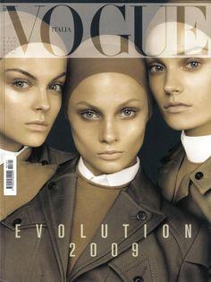 Vogue Italia - Vogue Italia January Cover 2009