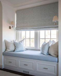 A bit of window seat inspiration. Image via @brady.design #windowseats
