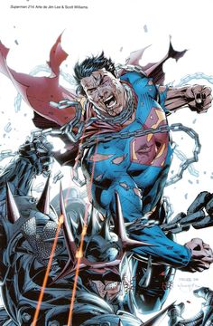 Superman vs Zod by Jim Lee