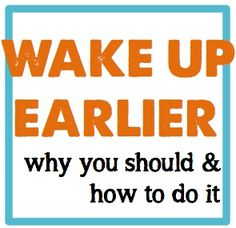 Lots of research backing the benefits of waking up early as well as an easy-to-follow one week guide for getting your booty out of bed!