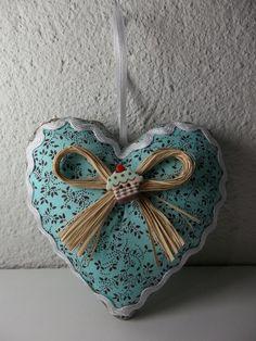 Coração (Sachê) Perfumado Feito em tecido de algodão R$6,50