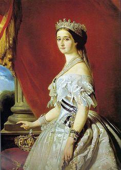 Franz Xaver Winterhalter (1805–1873), Portrait of Eugénie de Montijo (1826-1920), 1853