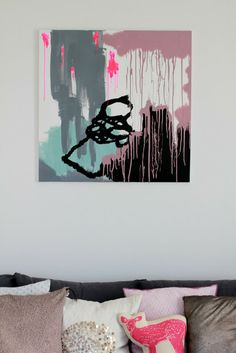 Syrinveien 3: Homemade piece of art
