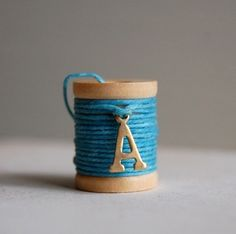 Image of Alphabet Wish Thread Bracelet
