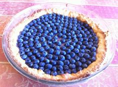 crostata ai mirtilli vegana facile