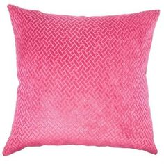 The Pillow Collection Square Ilayda Solid Throw Pillow (A)
