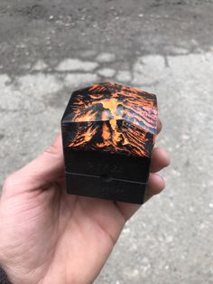 Excited to share this item from my #etsy shop: Engagement Wood and resin ring box. Unique wooden resin ring holder. Personalised proposal epoxy resin and wood ring bix Resin Ring, Resin Necklace, Resin Pendant, Wood Engagement Ring, Proposal Ring Box, Ring Pillow, Wood Resin, Wood Rings, Rings For Men