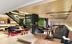 plan:B Arquitectos together with Perceptual Studio have designed the Click Clack Hotel located in Bogota, Colombia.