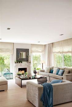Home Living Room, Living Room Decor, Living Spaces, Living Pequeños, Cozy Living, Small Room Design, Decoration Inspiration, Decor Ideas, Room Ideas