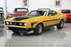 1971 Ford Mustang Mach 1 429 Coupe for Sale: St. Louis, Missouri