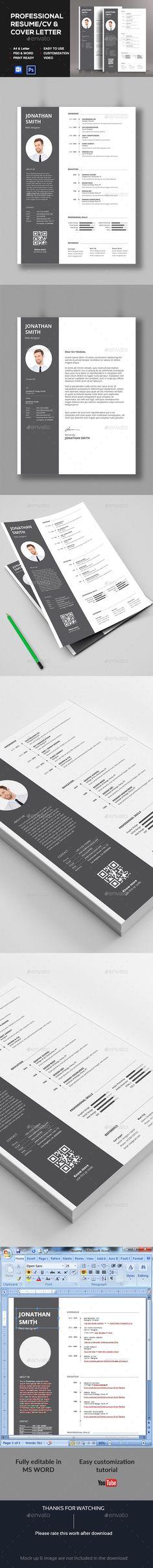 resume psd template resume booklet multipurpose download