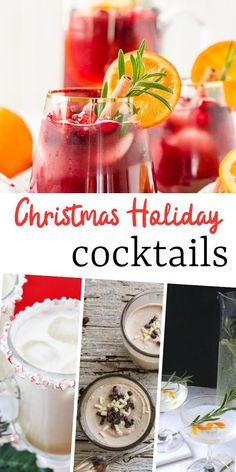 Christmas is right around the corner, and we all know how stressful it can be. Enjoy some of these delightfully delicious Christmas cocktails. Milkshake Recipes, Sangria Recipes, Drinks Alcohol Recipes, Margarita Recipes, Yummy Drinks, Cocktail Recipes, Drink Recipes, Rumchata Recipes, Dessert Recipes