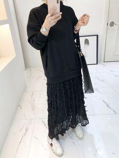 Lace Embellished Skirt Twofer Long Dress | $ 73.60 ($ 12.60 discount)