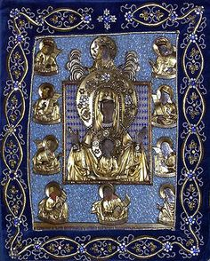 """Icon of the Mother of God """"of the Sign"""", the """"Kursk-Root"""" - Orthodox Church in America"""