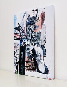99 Cent 75x100x4 cm Urbane Kunst, 99 Cents, New York, Street Art, Wall Prints, Canvas, New York City, Nyc