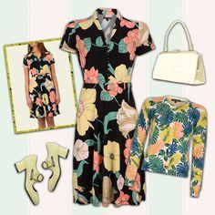 Blomster og kjoler må være den bedste måde at gøre en kvinde glad!