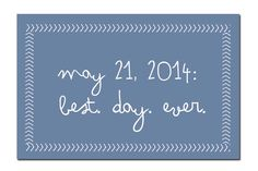 """Save the Date Postcard: """"Best Day Ever"""" // Funny Save the Date, Unique Save the Date, Summer Wedding, Spring Wedding // PDF on Etsy, 22,74€"""