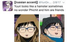 Yuri on ice- Yuri Katsuki and Phichit Humor