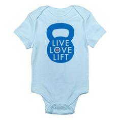 Crossfit Baby Apparel! LOVE!!!