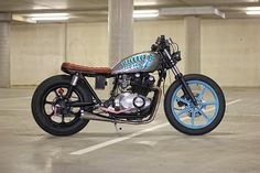 Not often you see a cafe racer for a chick and the Cool Kid GS450 looks pretty sweet.