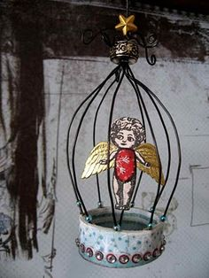 Stars, angels and bird cages-what's not to love?