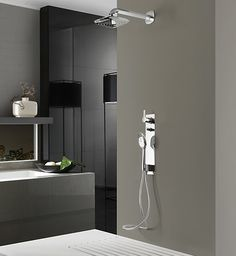 Bathroom inspiration on pinterest bathroom taps bath for Plato ducha porcelanosa