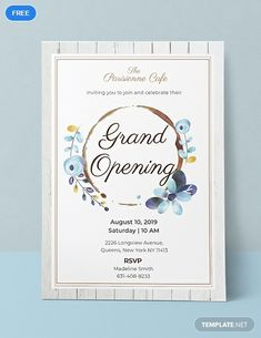 Grand Opening Invitation Template Free - √ 30 Grand Opening Invitation Template Free , Sample Wording for Health Center Grand Opening Invitations Invitation Card Format, Invitation Templates Word, Invitation Maker, Business Invitation, Invitation Card Design, Invitation Wording, Christmas Party Invitation Template, Free Printable Birthday Invitations, Holiday Invitations