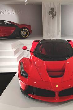 LaFerrari at Museo Ferrari Maranello