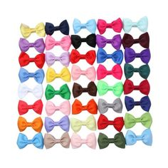 "Janecrafts 41 Grosgrain Girl 2.5"" Boutique Hair Bow Barrettes Baby-41 Colors (Hair bow with Clips) Janecrafts http://www.amazon.com/dp/B00JDZ3K0A/ref=cm_sw_r_pi_dp_2Ta-tb0ECS23W"
