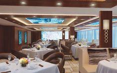 The Haven Restaurant, Norwegian #Escape. #Cruise #Luxury