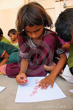 Art Therapy For Refugee Children