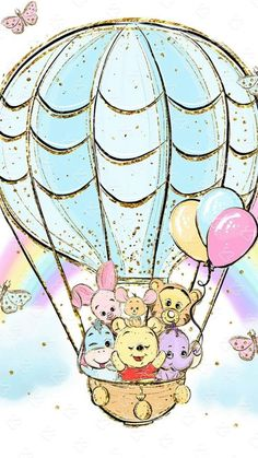 Pooh and friends. pooh and friends wallpaper iphone disney Cute Cartoon Wallpapers, Cute Wallpaper Backgrounds, Wallpaper Iphone Cute, Cute Winnie The Pooh, Winne The Pooh, Disney Phone Wallpaper, Friends Wallpaper, Kawaii Disney, Baby Disney