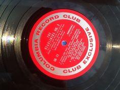 The Headliners Vol. 3 (vinyl)  Columbia  Record Club GB11 LP Record