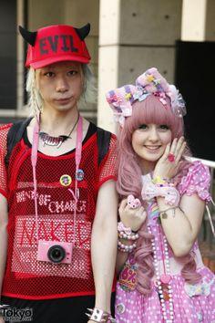 Harajuku Fashion Walk Street Snaps