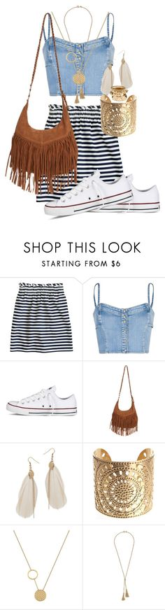 """Coachella 2014(((?))) Never hurts to prepare..."" by chavelaprincess ❤ liked on Polyvore featuring J.Crew, MANGO, Converse, Wet Seal, Lacoste, H&M, mini skirts, crossbody bags, fringe bags and tassel necklaces"