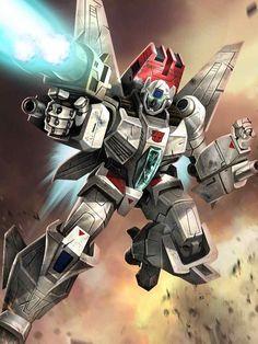 Autobot Jetfire (Skyfire) Artwork From Transformers Legends Game