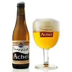 ACHEL BLOND  Delight cloudy gold, pale yellow color that's clear and barely filtered looking, even with the inclusion of yeast. Nose has notes of flowers, yeast, malts and juice from yellow apples. There is some fruity malts, grains, yeast, fermented tart and hints of apple wine. It finishes with a warm fruit brandy that becomes nice and crisp at the end. There is a bit of an alcoholic burn at the back, but it's warming and toasty overall.