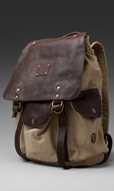 66db609725db Shop for WILL Leather Goods Lennon Rucksack in Khaki   T.Moro at REVOLVE.  Free day shipping and returns
