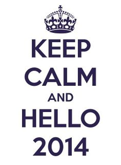 Hoping '14 brings a lot of good.... Peace out '13!!!