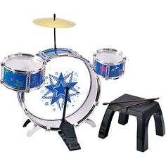 Kid Connection 2 My First Metal Drum Set $19.97 @ Walmarts.