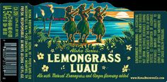 Kona Brewing prides itself on its Hawaiian origins. Take a look at that website, even the little lizard has some kind of surfer tattoo. Back in the brand sold to Craft Brew Alliance and acc… Kona Brewing, Beer Brewing, Surfer Tattoo, Blonde Ale, Liquor License, Lemon Grass, Luau, Good People, Craft Beer