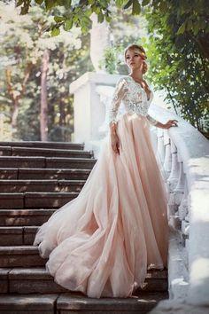 vestidos de novia muy hermosa 2017