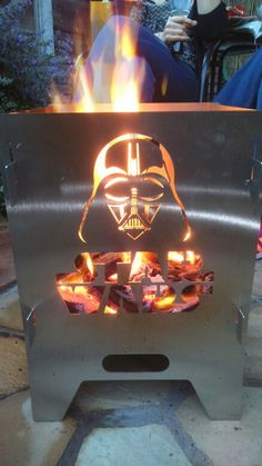 My Star Wars wood burner