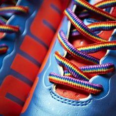 Every Premier League footballer got a pair. #homophobia  http://www.pinknews.co.uk/2014/09/05/stonewall-sends-rainbow-laces-to-every-premiership-footballer-to-tackle-homophobia/