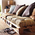 Palet DIY couch.