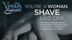 Terrible Things Await Women Who Use Men's Razors, Says Gillette, LoL! I use my hubbys all the time and its better than the woman's razors I've used. Start making 5 blade razors for woman dammit! :P